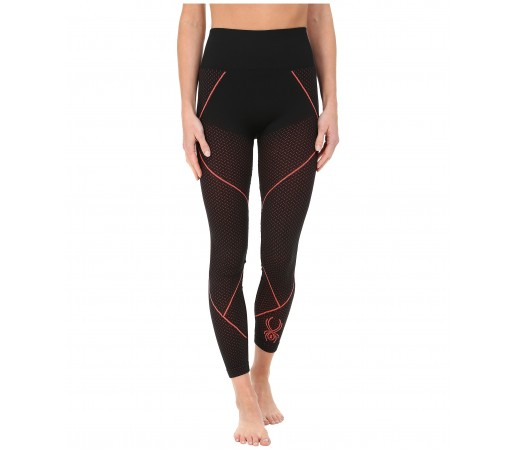 Pantaloni First Layer Spyder Olympian (Boxed) Negru/Roz