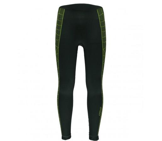 Pantaloni First Layer Spyder Skeleton (Boxed) Negru/Verde