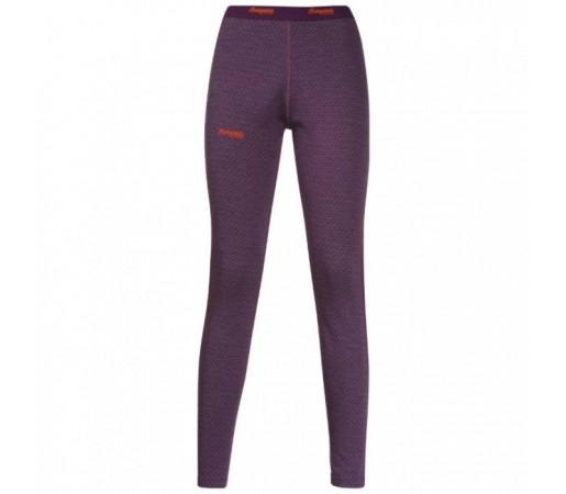 Pantaloni first layer Snoull Bergans Of Norway Lady- 100% Merino Wool Mov