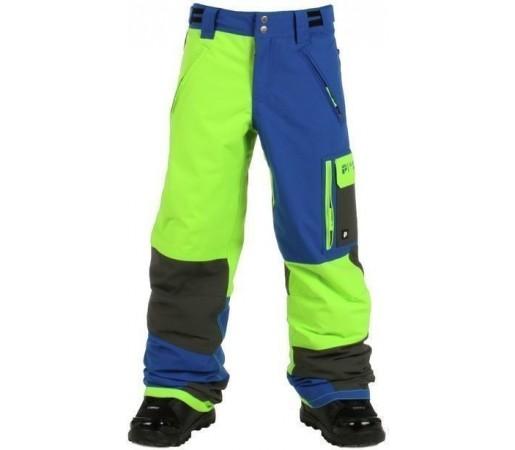 Pantaloni Snowboard PROTEST LADO JR Green
