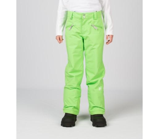 Pantaloni Schi si Snowboard Spyder Girls Vixen Tailored Verzi