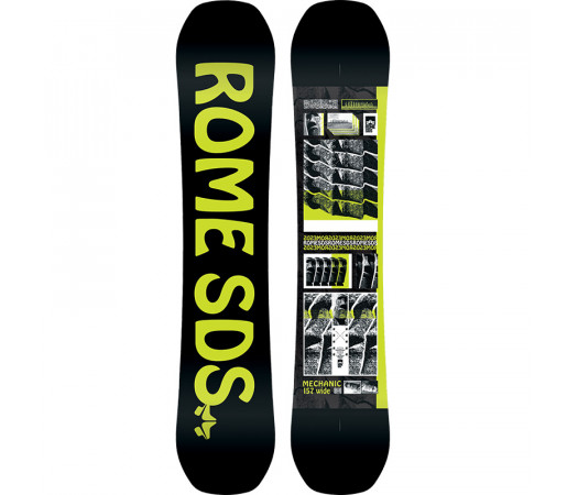 Placa Snowboard Rome Mechanic 157W 2020