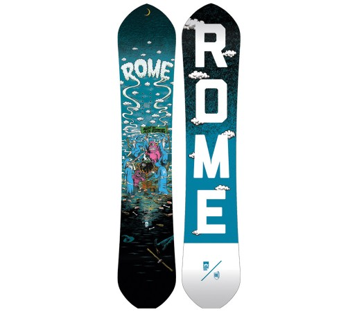 Placa Snowboard Rome Agent Rk1 Alek 2018