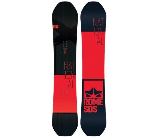 Placa Snowboard Rome National 2018