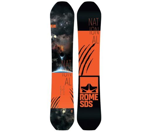 Placa Snowboard Rome National Bjorn 2018