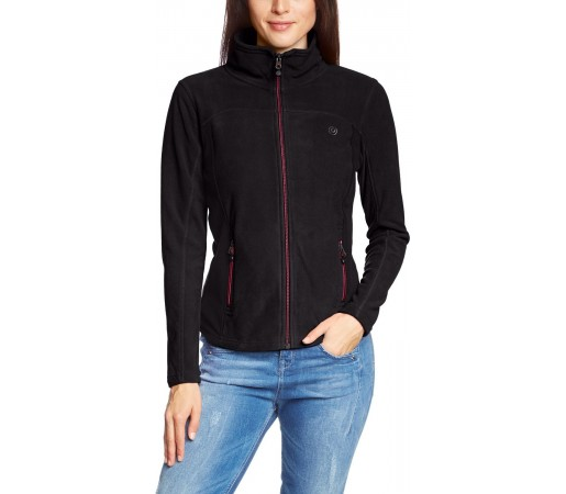 Polar Brekka Microplus Jacket Woman Negru