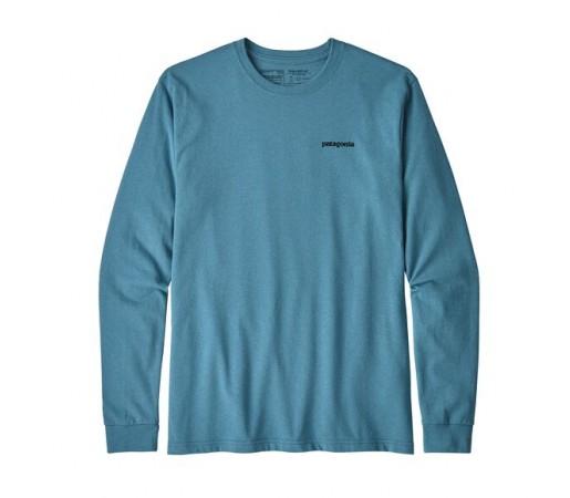 Bluza Barbati Patagonia Fitz Roy Trout Responsibili-Tee Albastru