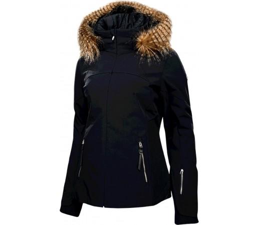 Geaca Schi si Snowboard Spyder Posh Faux Fur Negru