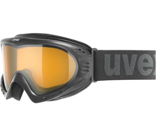 Ochelari Ski si Snowboard Uvex Cevron Black/ Laser gold