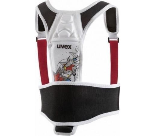 Protectie coloana Uvex Kids Shield White- Black