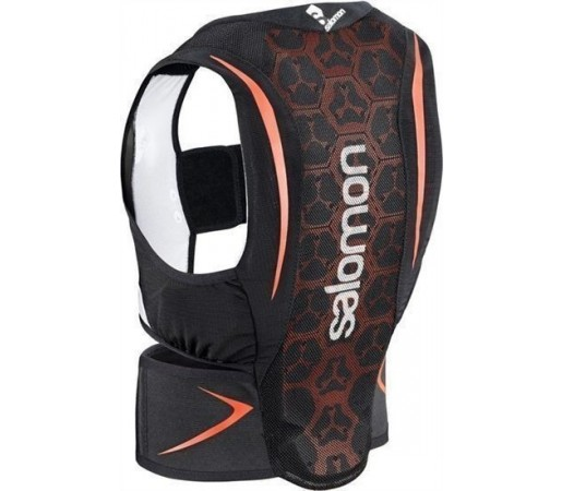 Protectie Spate Salomon FLEXCELL JUNIOR Black/Red