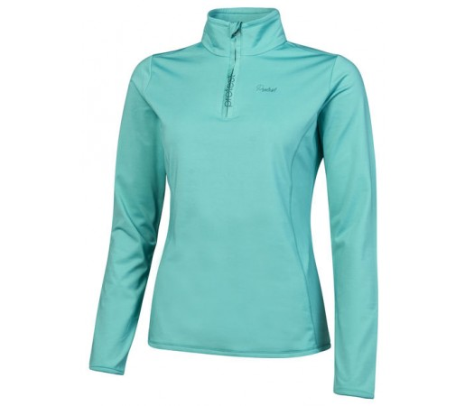 Bluza First Layer Femei Protest Fabrizoy 1/4 Zip Top Turcoaz