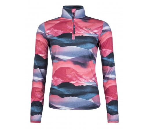 Bluza First Layer Femei Protest Suggi 1/4 Zip Top Multicolor