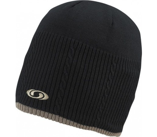 Caciula Salomon Quartz II Beanie Black/Mid Brown 2013