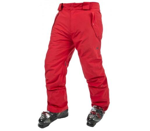 Pantaloni Barbati Ski Trespass Rankin Rosu