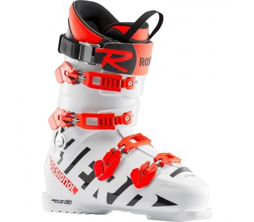 Clapari Ski Unisex Rossignol Hero World Cup 130  Med White