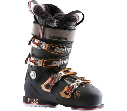 Clapari Ski Femei Rossignol Pure Pro Heat (Night Black)