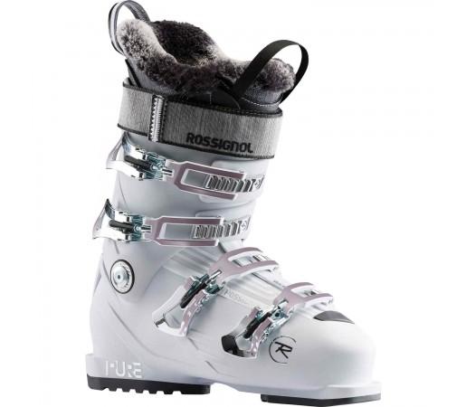 Clapari Ski Femei Rossignol Pure Pro 90 - White Grey