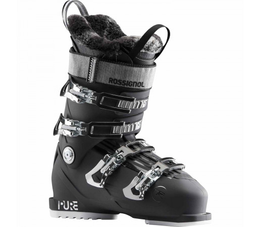 Clapari Ski Femei Rossignol Pure Pro 80 - Soft Black