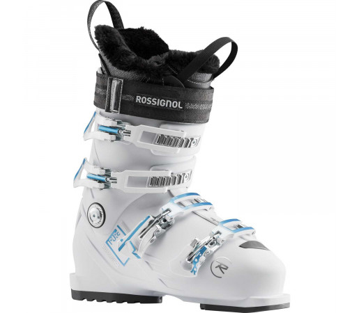 Clapari Ski Femei Rossignol Pure 80 - White Grey