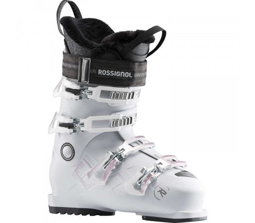 Clapari Ski Femei Rossignol Pure Comfort 60 - White Grey