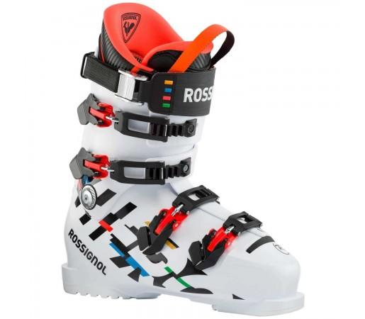 Clapari Ski Unisex Rossignol HERO WORLD CUP 130 Alb