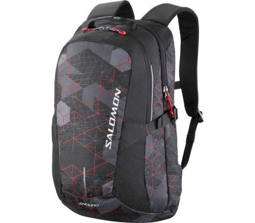 Rucsac Salomon Enduro 24 Black/Asphalt/Bright Red 2013