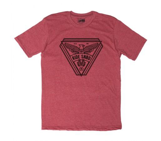 Tricou Ride Spread Rosu