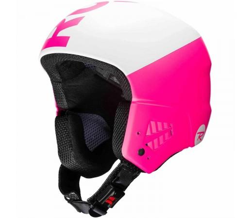 Casca Ski Femei Rossignol Hero9 Fis Impacts W(With Chin Guard) (Roz)