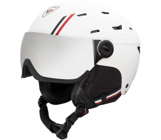 Casca Ski Barbati Rossignol Allspeed Visor  Imp Strato White (Alb)