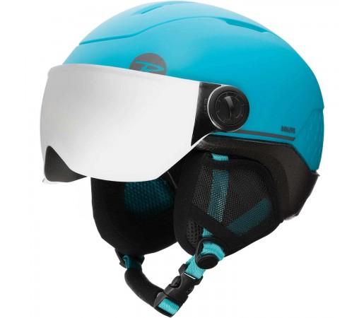 Casca Ski Copii Rossignol Whoopee Visor Impacts Blue/Black (Albastru)