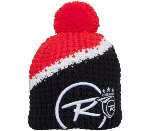 Caciula Rossignol World Cup Pompon Red/Black