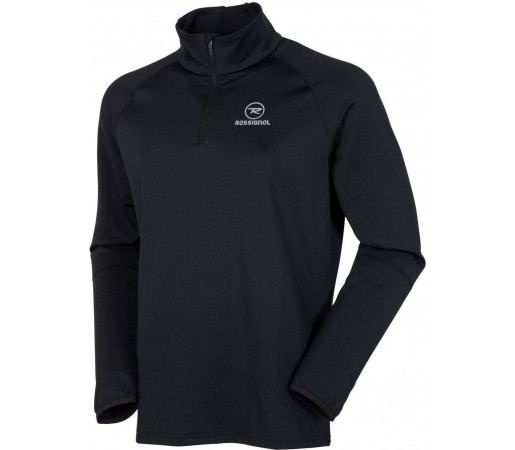 Midlayer Rossignol Warm Stretch 1/2 Zip Black