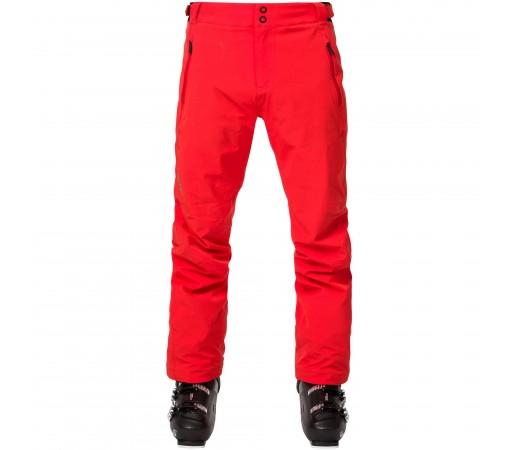 Pantaloni Ski Barbati Rossignol COURSE Rosu