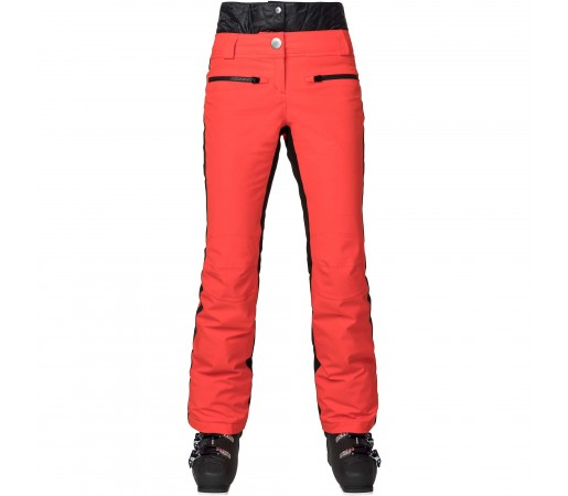 Pantaloni Ski Femei Rossignol YUROCK Rosu