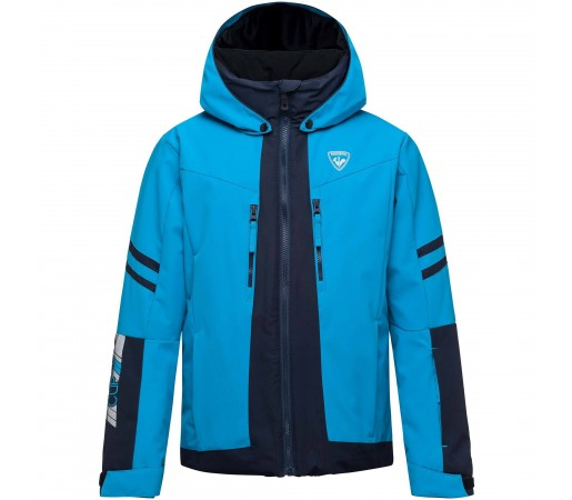 Geaca Ski Baieti Rossignol COURSE Bleu / Bleumarin
