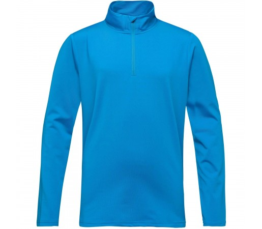 Bluza Mid-Layer Baieti Rossignol 1/2 ZIP WARM STRETCH Bleu / Bleumarin