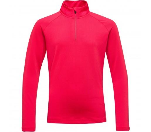 Bluza Mid-Layer Fete Rossignol 1/2 ZIP WARM STRETCH Rosu