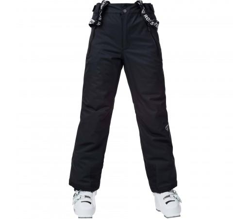 Pantaloni Ski Baieti Rossignol CONTROLE Negru