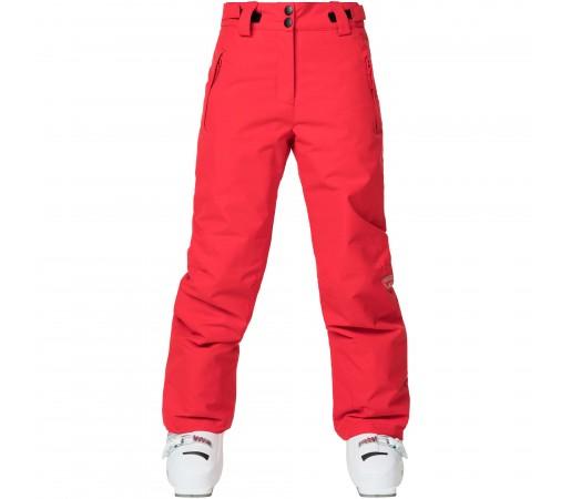 Pantaloni Ski Fete Rossignol SKI Rosu