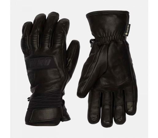 Manusi Ski Barbati Rossignol Hero Leather Gtx Black (Negru)