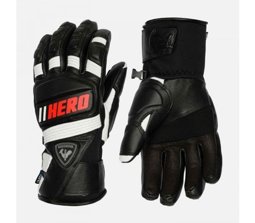 Manusi Ski Barbati Rossignol Wc Expert Leather Impr G Black (Negru)