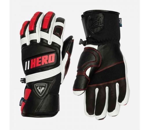 Manusi Ski Barbati Rossignol Wc Expert Leather Impr G Sports Red (Rosu)
