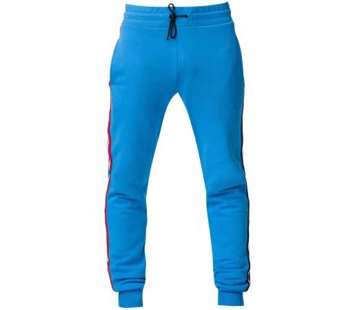 Pantaloni Barbati Rossignol Stripes Sweat Pant Royal Blue (Albastru)
