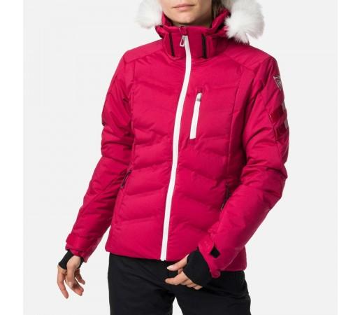 Geaca Ski Femei Rossignol W Depart Jkt Raspberry (Roz)
