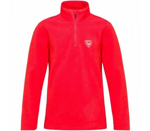 Bluza First Layer Copii Rossignol Boy 1/2 Zip Fleece Crimson (Rosu)