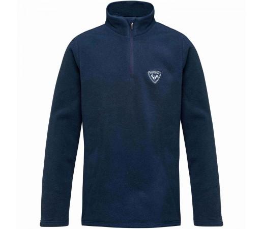 Bluza First Layer Copii Rossignol Boy 1/2 Zip Fleece Dark Navy (Bleumarin)