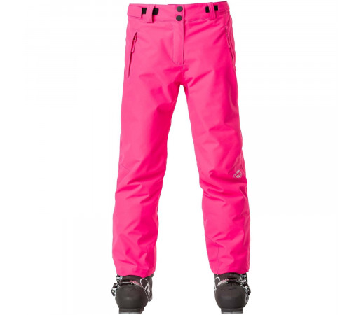 Pantaloni Ski Copii Rossignol Girl Ski Pant Pink Fushia (Roz)