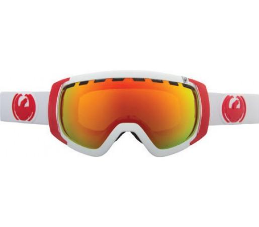 Ochelari Schi si Snowboard Dragon ROGUE White  / Red Ion + Yellow Blue Ion