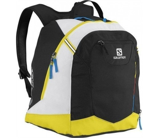 Rucsac Salomon Gear Backpack Black- Yellow- White